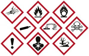 seguridad para productos inflamables