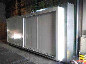 almacenes calefactados o refrigerados para inflamables