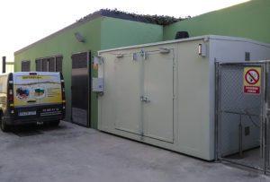 Almacen Transitable para líquidos inflamables y combustibles
