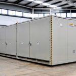 Contenedor Modular  INFLAMABLES, capacidad  ( 36-48 palets), Validado APQ -10