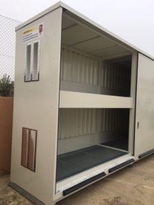 contenedor para almacenar corrosivos