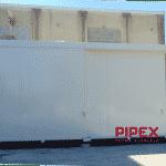 AURAY MANAGING – PIPEX 2 Contenedores de POX – 24 PALETS DE ALMACENAMIENTO