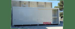AURAY MANAGING – PIPEX 2 Contenedores – 24 PALETS DE ALMACENAMIENTO