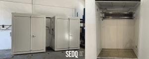 SEDQ – 2 armarios resistentes al fuego personalizados