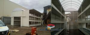 MEGASA – Almacén apq para químicos personalizado 72 palets